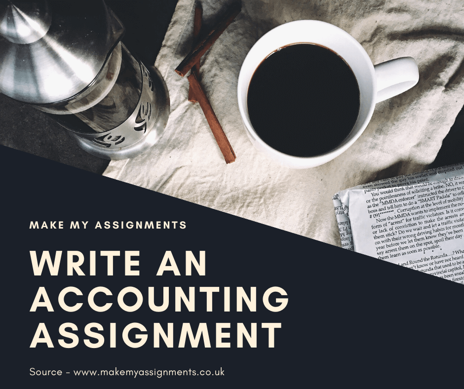 How to Write an Accounting Assignment