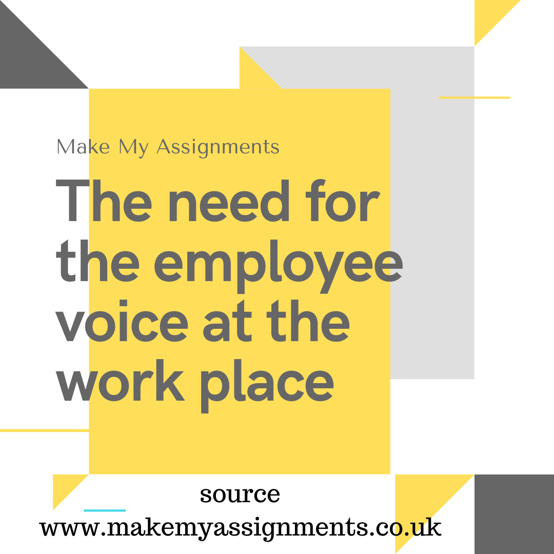 How to Write an Essay on Employee Voice