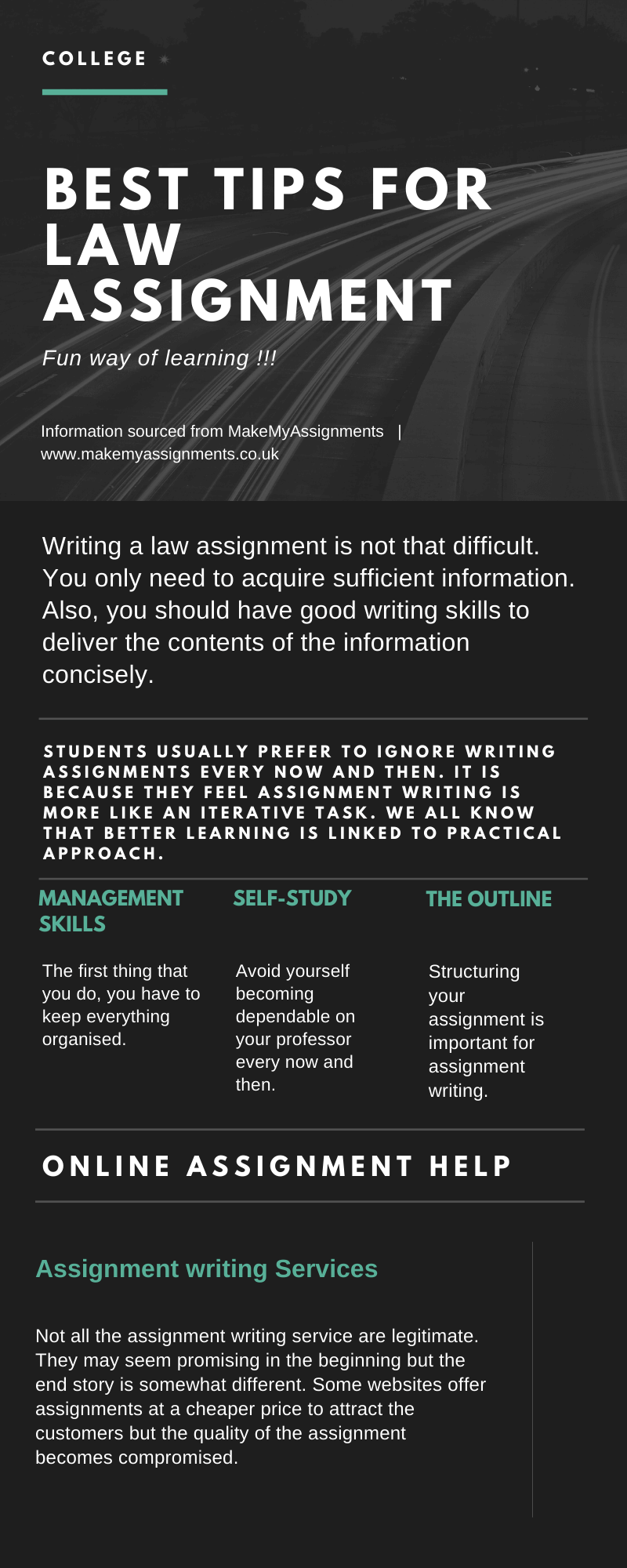 Best Tips for Law Assignment