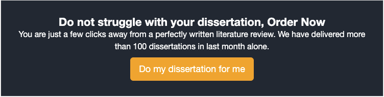 do my dissertation for me
