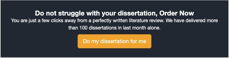 do my dissertation for me